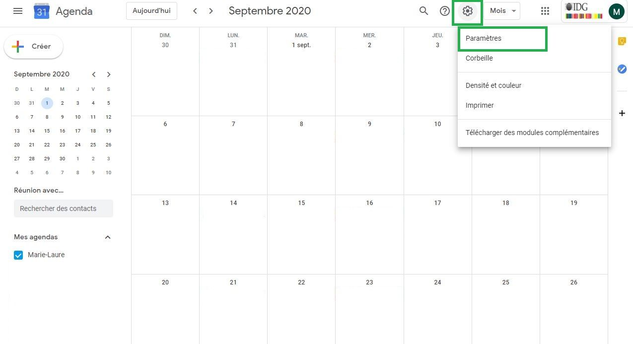 Synchroniser Calendrier Outlook Gmail.Voici Comment Synchroniser Son Calendrier Google Et Outlook
