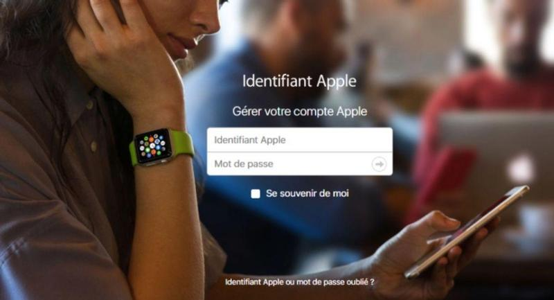 compte apple bloque capture ecran apple