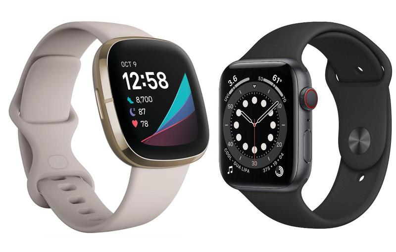 Fitbit Sense/Apple Watch Series 6