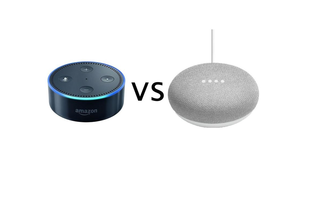 Comparatif : Amazon Echo Dot vs Google Home Mini