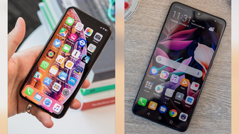 iPhone XS vs Huawei Mate 20
