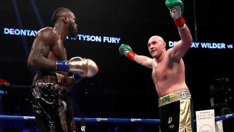 Tyson Fury vs Deontay Wilder le 1er décembre 2018. Andrew Couldridge/Reuters