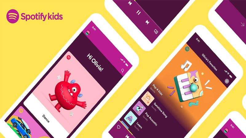 spotify kids france abonnement