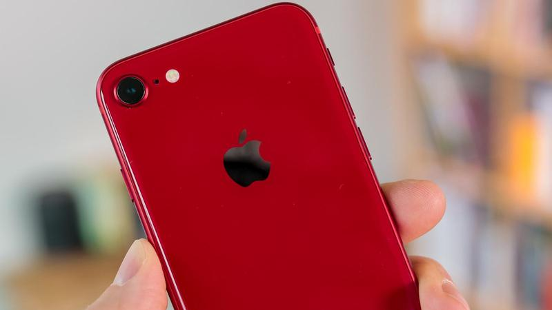 iPhone 8 rouge (PRODUCT red)