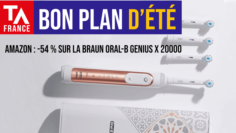 bon plan amazon braun oralb