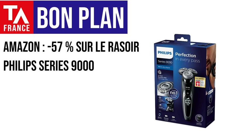 bon plan amazon ta fr rasoir philips series
