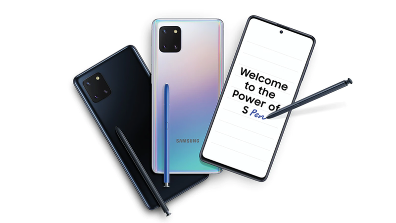 Image d'illustration : Samsung Galaxy Note10 Lite