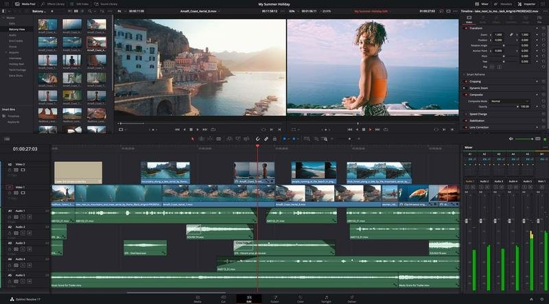 Image DaVinci Resolve