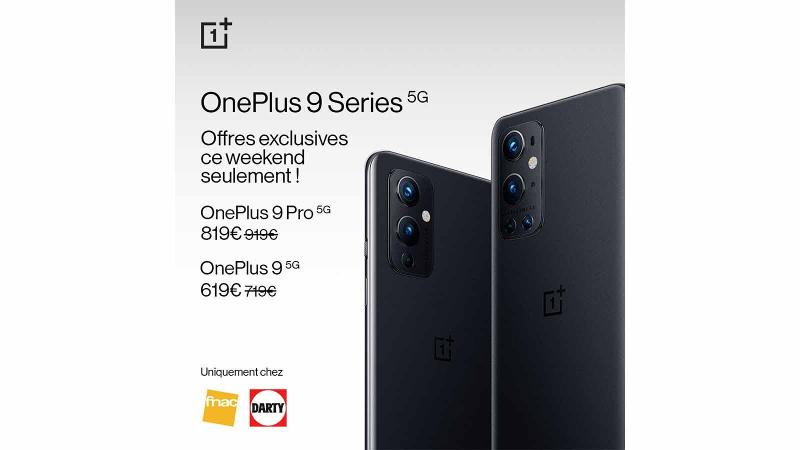 fnac darty soldes oneplus 9