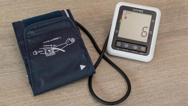 homiee blood pressure monitor