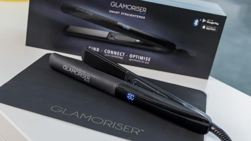 glamoriser blue smart straightener 1