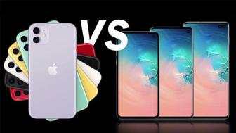 Comparatif : iPhone 11 vs Samsung Galaxy S10