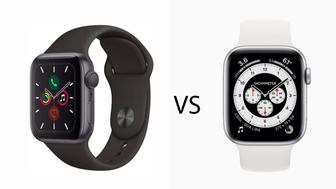 Comparatif : Apple Watch Series 6 vs Series 5