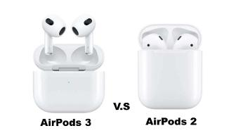 Comparatif : AirPods 3 (2021) vs AirPods 2 (2019)