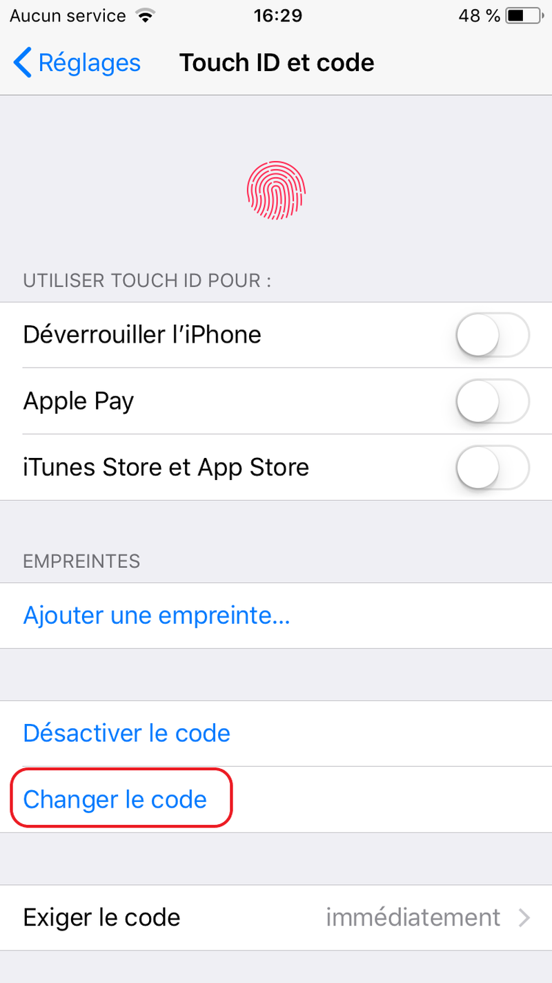 pirater sms iphone 6 Plus